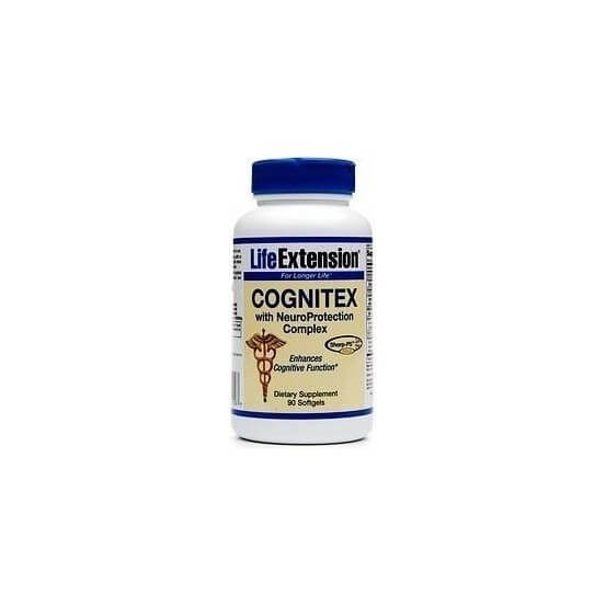 Cognitex with Pregnenolone & NeuroProtection Life Extension
