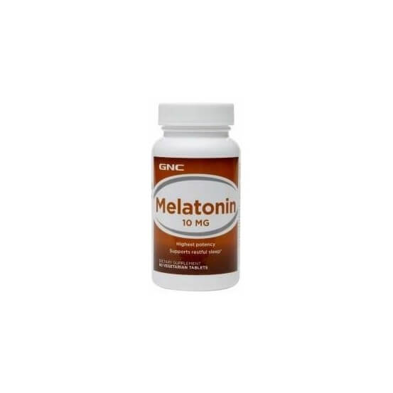Melatonina 10mg 60 Comprimidos GNC 048107123079