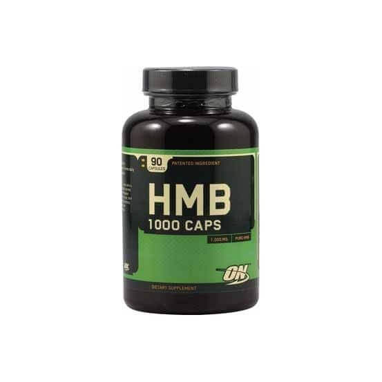 HMB 1000mg 90 capsulas Optimum nutrition 748927023138