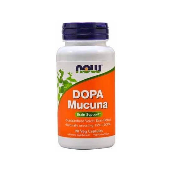 Dopa Mucuna, 90 Cápsulas, Now Foods, 733739030924