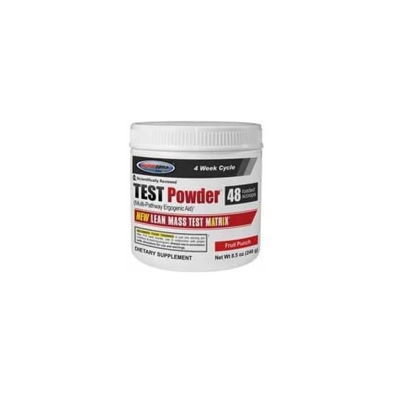 Test Powder, Fruit Punch, 240g, USPLabs, 094922368973