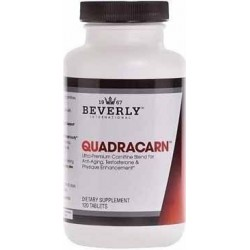 Quadracarn 120 Comprimidos Beverly international 015000071349