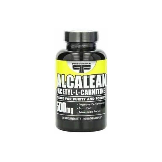 Alcalean 100% acetyl L-carnitine 500mg 100 capsulas Primaforce 181030000014