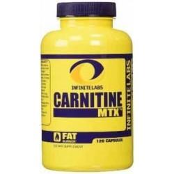 L-carnitina MTX 120 Cápsulas Infinite Labs 753182677088
