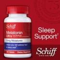 Melatonina Ultra 3mg 365 Comprimidos com L-theanine anti Stress Schiff 020525121684