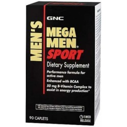 Mega Men, Multivitaminico, 90 Comprimidos, GNC, 048107154929
