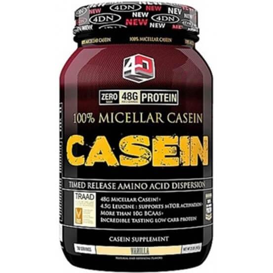 Caseína Micelar 100% 907gr Baunilha 4 Dimension Nutrition