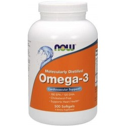 Omega 3 1000mg  500 Softgels Now Foods
