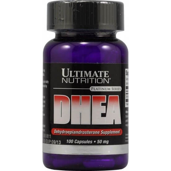 DHEA 50mg 100 Cápsulas Ultimate Nutrition