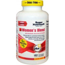 Women's Blend Iron Free 180 Tabs Super Nutrition