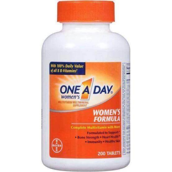 One-A-Day Women's Formula Multivitamin/Multimineral Supplement 200 Comprimidos