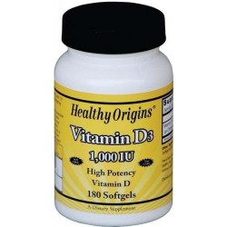 Vitamina D3 1.000ui 180 Softgels Healthy Origins