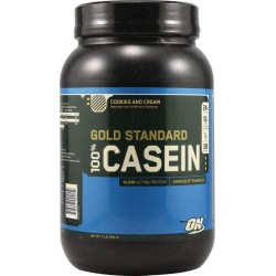 100% Gold Standard Caseina Cookies and Cream Optimum Nutrition