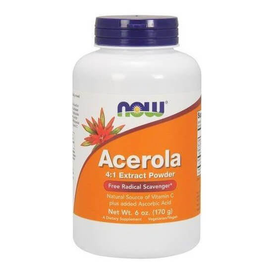 Acerola 4:1 Extract Powder 170gr Now Foods