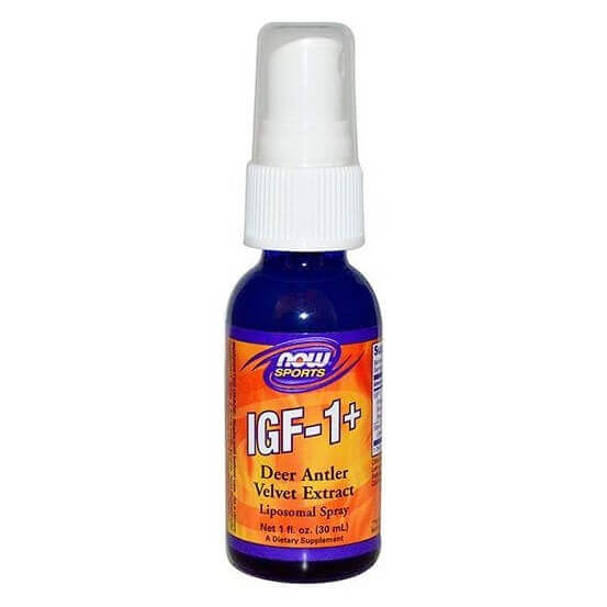 IGF-1 + Liposomal Spray 30ml Now Foods 733739032010
