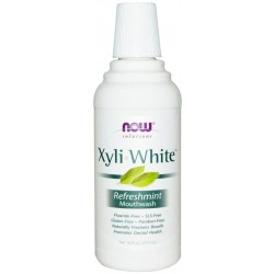 Xyli-White Enxágue Bucal Refreshmint 473ml Now Solutions