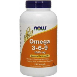 Ômega 3-6-9 1000 mg 250 Softgels Now Foods