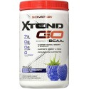 Xtend GO Energy + BCAAs Blue Raspberry 429gr Scivation