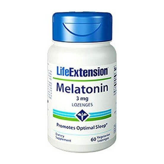 Melatonina 3mg 60 Lozenges Life Extension