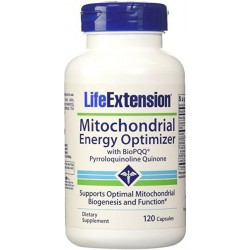 Mitochondrial Energy Optimizer With BioPQQ 120 Cápsulas Life Extension
