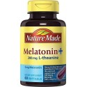 Melatonina L-teanina 200mg 60 Softgels Nature Made