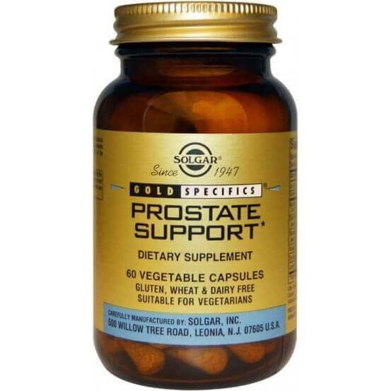 Gold Specifics, Prostate Support, 60 Cápsulas, Solgar