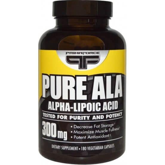 Ácido Alfa Lipoico Pure ALA 300mg 180 Cápsulas Primaforce