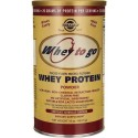 Whey To Go, Whey Protein, Sabor Natural de Chocolate, 453,5 g Solgar