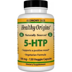 5-HTP 100mg 120 Cápsulas Vegetarianas Healthy Origins