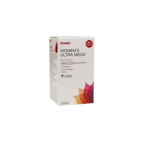 Multivitamínico Women's Ultra Mega 90 Comprimidos GNC