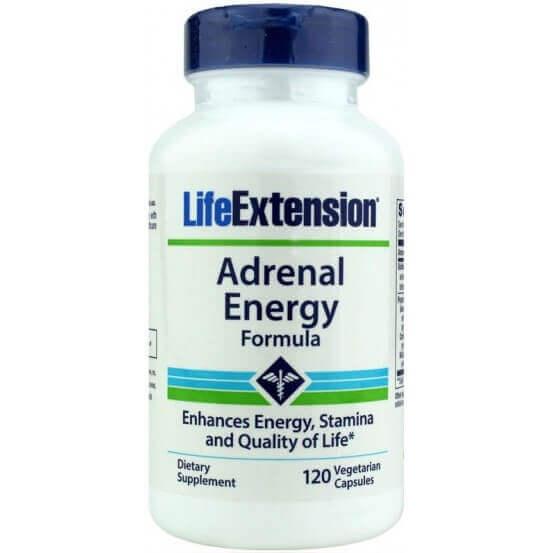 Adrenal Energy Formula, 120 Cápsulas Vegetarianas, Life Extension