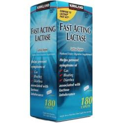 Fast Acting Lactase 180 Comprimidos Kirkland Signature