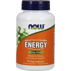Energy, 90 Cápsulas Vegetarianas, Now Foods