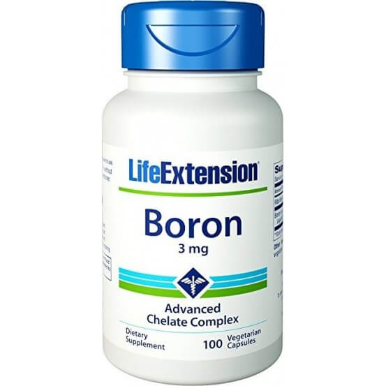 Boro, 3mg, 100 Cápsulas Vegetarianas, Life Extension