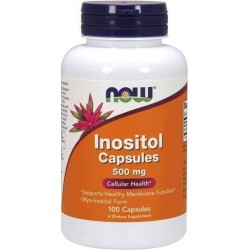 Inositol 500mg 100 Cápsulas Now Foods
