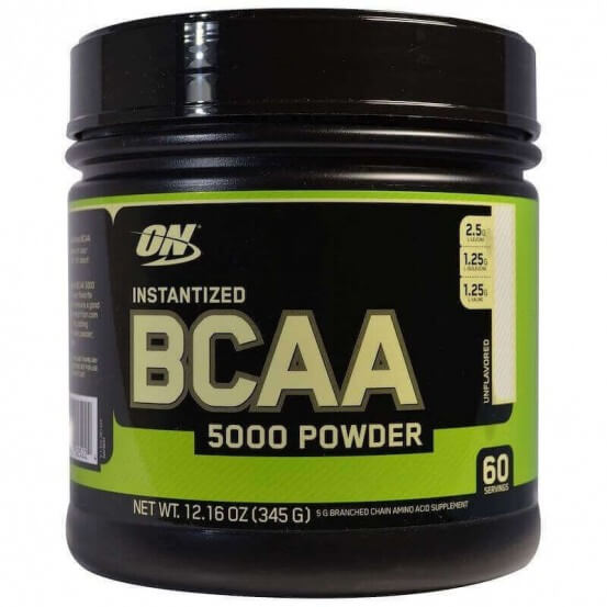 BCAA 5000, Powder, 345g, Optimum Nutrition, 748927025224