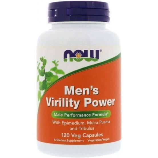Men's Virility Power, 120 Capsulas Vegetais, Now Foods