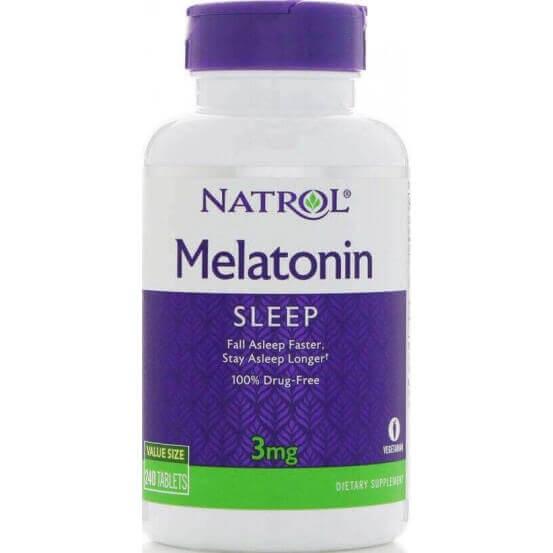 Melatonina 3mg, 240 Comprimidos, Natrol