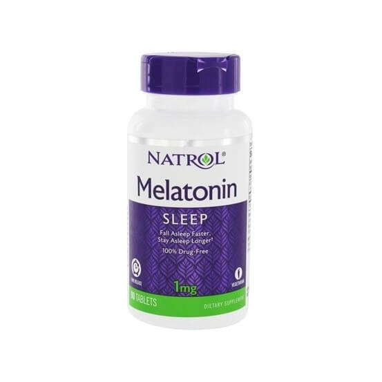 Melatonina 1mg, Time Release, 90 Comprimidos, Natrol