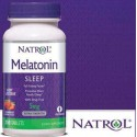 Melatonina 5 mg, 250 comprimidos, morango, Natrol , 047469067557