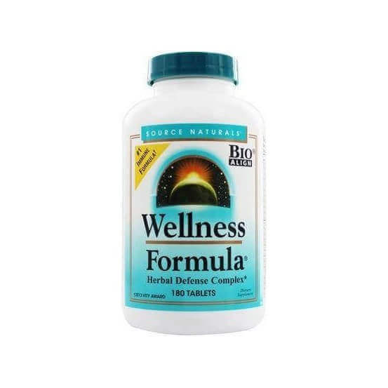 Wellness Formula Herbal Defense Complex, 180 Comprimidos, Source Naturals