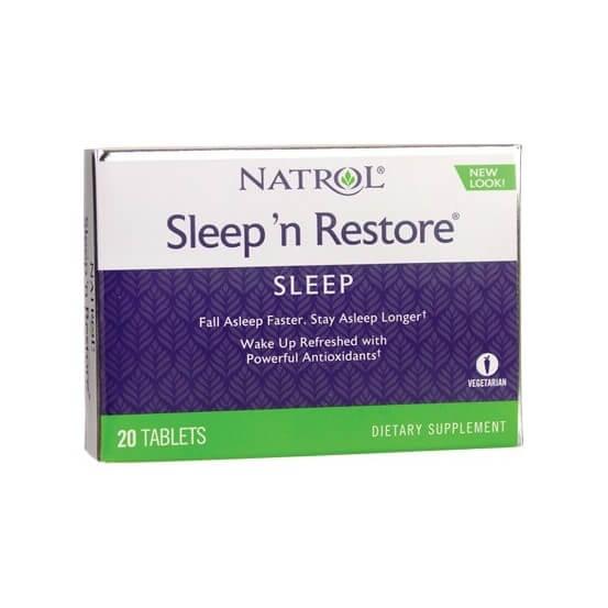 Sleep'n Restore 20 Comprimidos Natrol