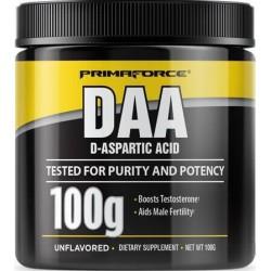 DAA, Ácido D-Aspártico, 100g, Primaforce