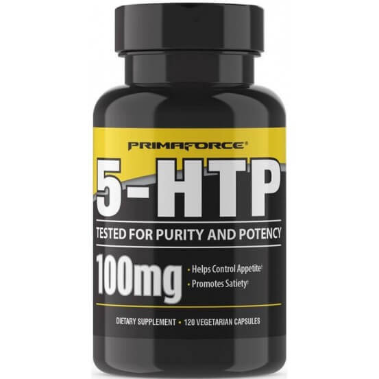 5-HTP, 100mg, 120 Cápsulas vegetais, Primaforce, 811445020016