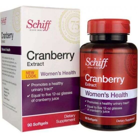 Cranberry, 500mg, 90 Softgels, Schiff