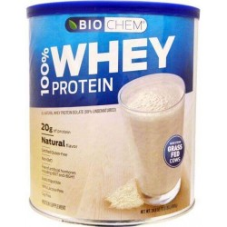 Whey Protein, 100% Isolado, Sabor Natural, 699g, Biochem, Country Life