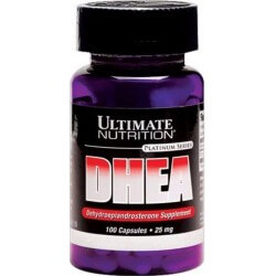 DHEA, 25mg, 100 Capsulas, Ultimate Nutrition