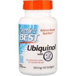 Ubiquinol with Kaneka, 100 mg, 60 Softgels, Doctor's Best