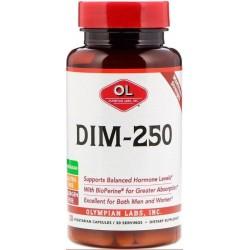 DIM-250, 30 Cápsulas Vegetais, Olympian Labs