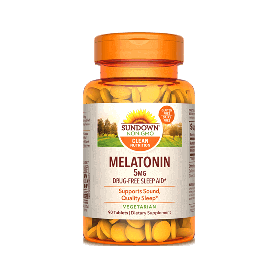Melatonina, 5mg, 90 Comprimidos, Sundown